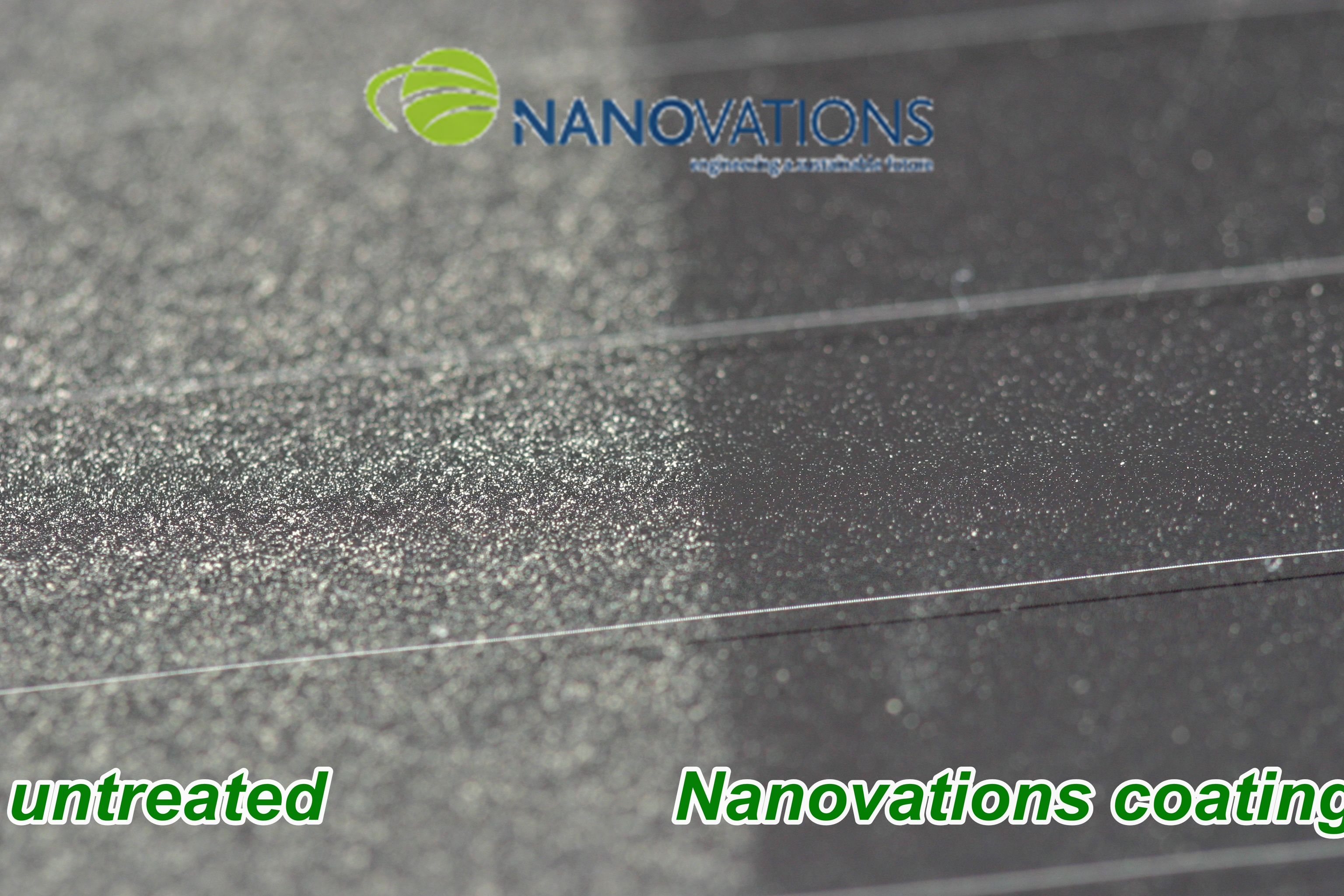Multiifunctional Nanotechnology Glass Coating For Dust