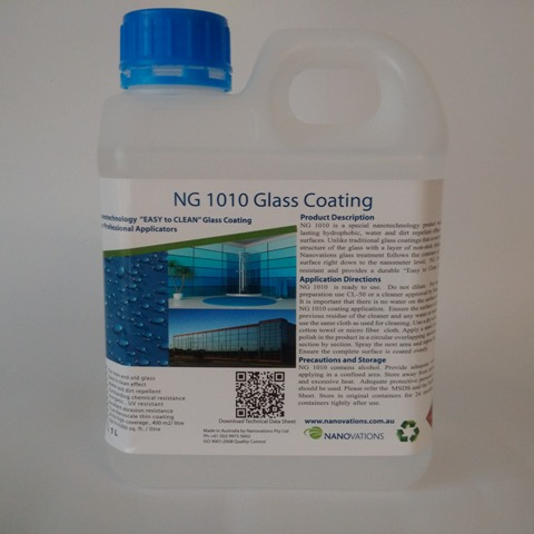 1 liter glass coating NG-1010